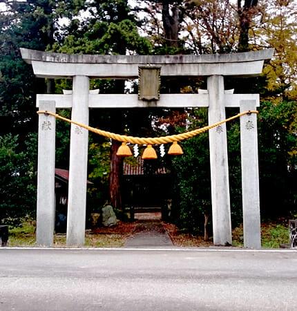 「八川神社」 富山市八川/寸法:545×150