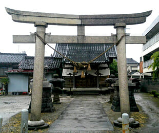 諏訪神社(Before)