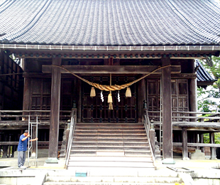 戸出野神社(Before)
